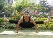 Dwi Hasta Bhugangasana (Two hand cobra pose)