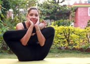 Garbha Pindasana (Foetus in the womb pose)
