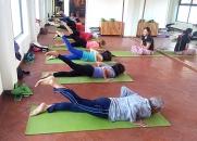 Yoga Class at Mandala Studio Yoga & Spa