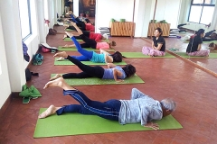 Yoga Class at Mandala Studio Yoga & Spa